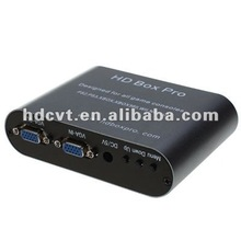 High quality YPBR to VGA converter Adapter (Upscaler)