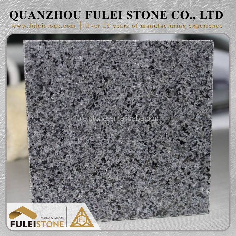 Cheap China natural padang dark g654 grey granite from Fulei Factory
