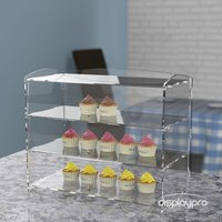 Amazing Cake Stand Multifunctional Clear Glass Cake dome with cake stand