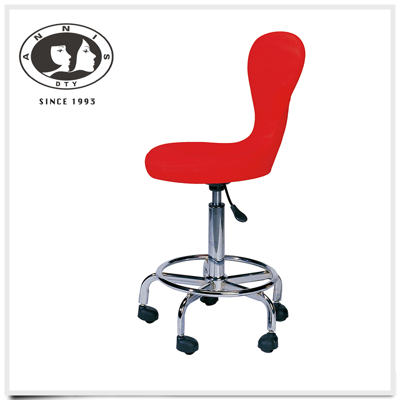 Wholesale 2016 hot sale cheap salon furniture luxury elegant design bar stool footrest covers