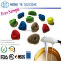 RTV mold making silicone rubber for climbing holds