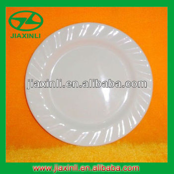 7.5'' Melamine Rice Plate With Wave