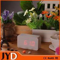 JYD- DAC02 2015 New Digital Desk Clock and Wooden Alarm Clock