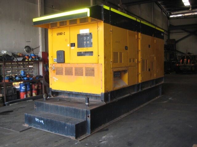 DENYO DCA800SPK 700 KVA 50 HZ, 800 KVA 60HZ GENERATOR FOR SALE