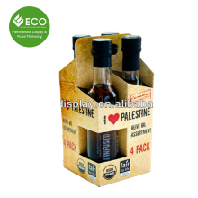 Fashion High Quality Cardboard Olive Oil Box With Hanger
