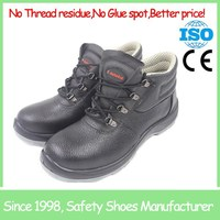 SF2080 mens anti smash high cut action leather steel toe work boots