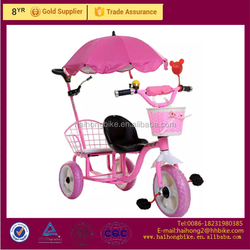 2016 latest baby tricycle with sunshade beautiful kids Baby Tricycle