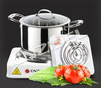 2015 new model high quality portable coil hot plate 1000w electric travel hot plate