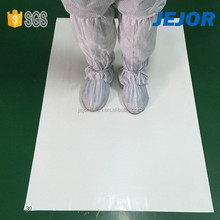 60cmX90cm 35um For Hospital Use White Adhesive Esd Sticky Mat Manufacturer