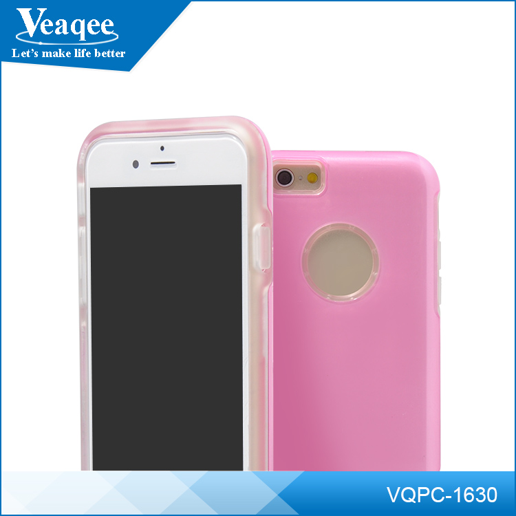 Veaqee for iphone 6 Three-dimensional,colorful phone case,PC and TPU phone case