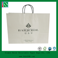 2015 Large machine made paper bag for cloth