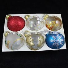 Mini Lovely Colourful Hanging Christmas Glass Ball