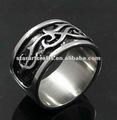 SR592 316L stainless steel 1 year anniversary gifts men ring