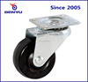Black rubber small wheel roller for lab tables