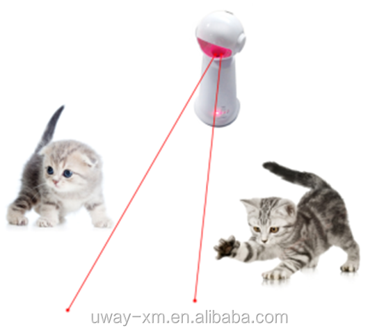 New arrival 360 degree rotate cat laser toy with FDA,CE ,FCC,ROSH