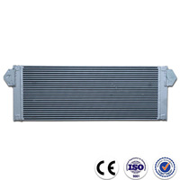 Custom made aluminum plate motorcycle oil cooler radiator