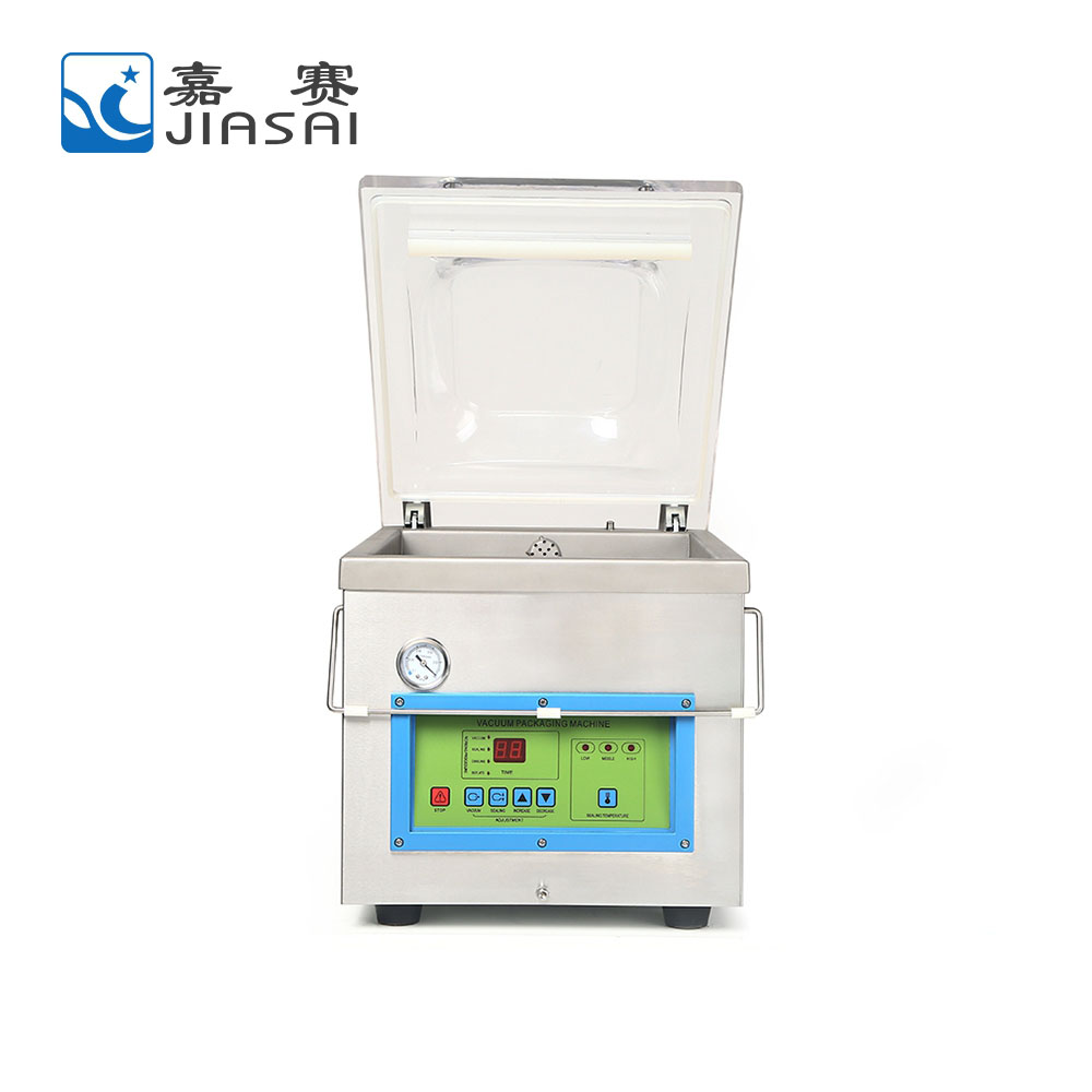 Factory price vacuum packed ready meal, chicken frozen food vacuum packing machine