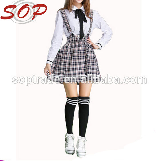 2016 Newest school Wear japanese girl high school uniform