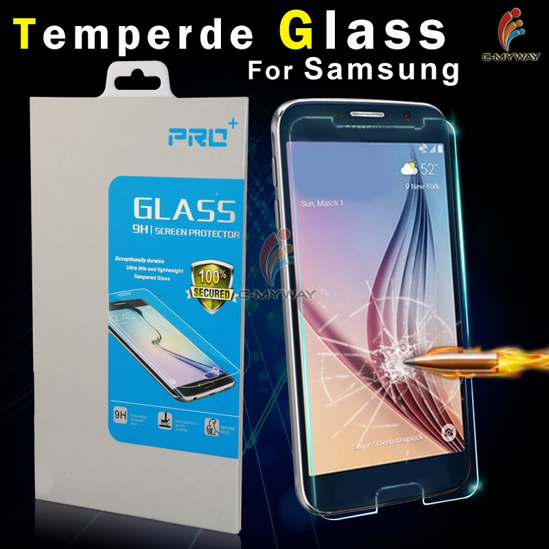Free sample ! 2.5 D round angle 9 H 0.26mm high clear tempered glass screen protector for samsung note 4 mobile phone