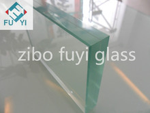 10.38mm high quality tempered clear laminated glass of building made in China