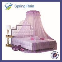 New Circular Lace Curtain hanging Dome Double Bed Canopy Netting Princess Mosquito Net