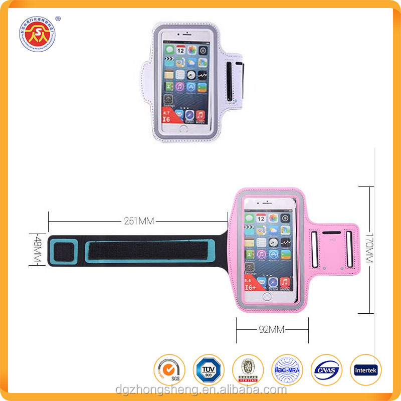 High quality waterproof cellphone case running for the arm band fashion