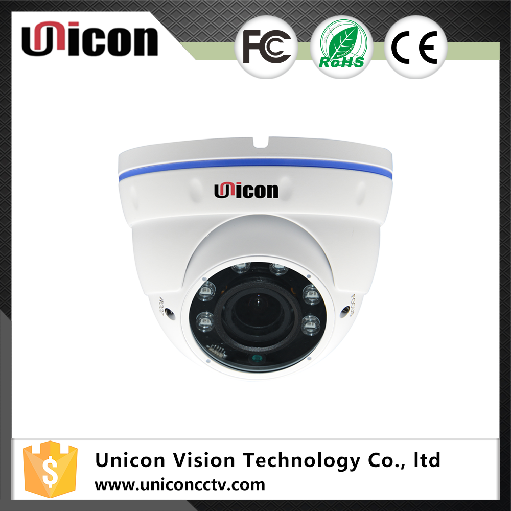 Unicon Vision H.264 Onvif Eyeball Dome Security 1080p ip camera varifocal lens 2.8-12mm