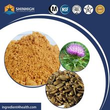 45%HPLC Silymarin Raw Material/Natural Milk Thistle Extract