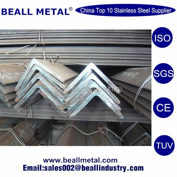 Unequal monel 400 plate stainless steel angle bar