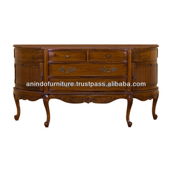 Mahogany Chippendale Base Buffet 11