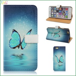 mobile phone leather case,leather flip case for samsung galaxy s6