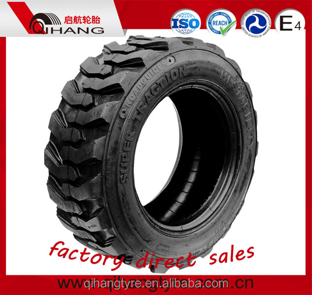 tyre made in China 10-16.5 bobcat skid steer tire puncture tires for skid steer