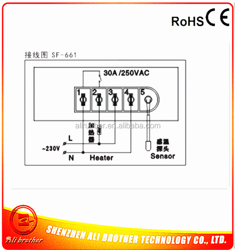 Thermostat Digital Temperature controller for heating