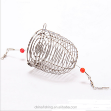 Stainless steel cage fishing bait cage