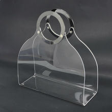 Handbag Design Recycle Plastic Modern Free Stand Newspaper Rack