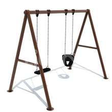 Baby Swing Plastic Cushion for Entertainment Swing Chair Kids Safety Plastic Swing Seat
