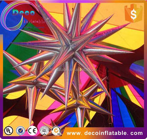2011 newly designed LED decoration inflatable star