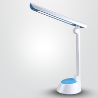 New Colorful study hotel led table lamp dimming with usb port flexible with touch sensor table lamp battery powered