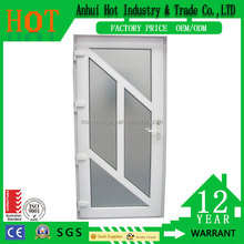 Wholesale PVC Windows PVC French Casement Window Clear Plastic Window Glazing