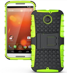 wholesale!!For moto x +1 Rugged Dual Holster with Fold Stand Belt Clip 2 in 1 Case