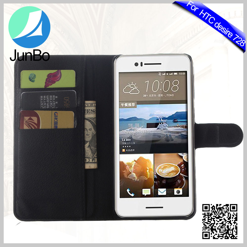 Phone Accessories Flip Case for HTC Desire 728 Pouch Cover