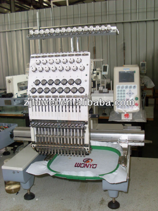 1501A SINGLE HEAD CAP EMBROIDERY AND SEWING MACHINE