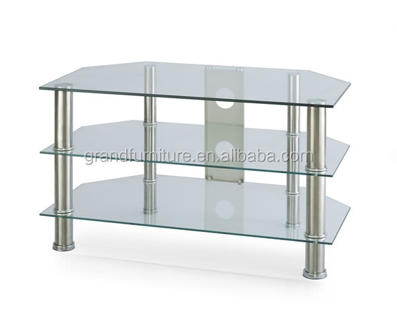 2016 Modern Design Glass TV Stand For Living Room General Use