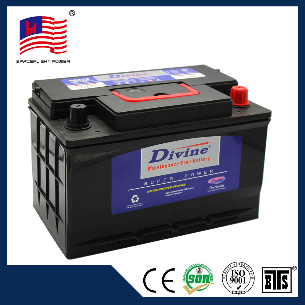 factory direct sell 56618 Long life full capacity cheapest car batteries and the battery for car