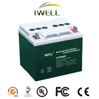 Hot selling IWELL NPC Series 12v 200Ah AGM battery Lead Acid Battery Vrla Sla Battery