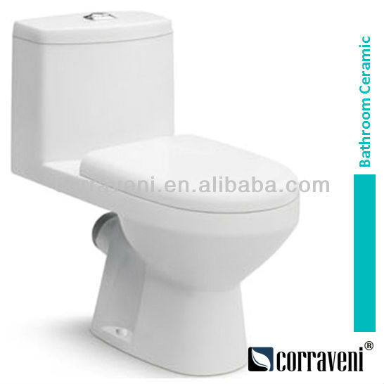 1 piece ceramic wc toilet bowl EE1211
