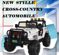 New jeep wrangler big 4X4 baby electric car kids battery powered Mp3 2.4G bluetooth remote control ride on car