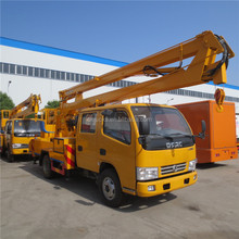 Popular classical high lifting platform truck bucket truck