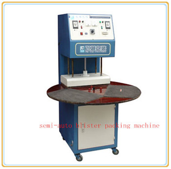 Semi-auto Blister card packing machine