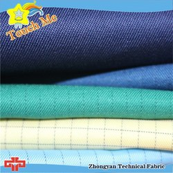 Factory supply industry flame retardant anti static cotton fabric